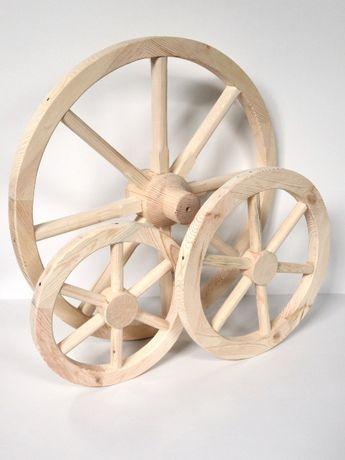 Колеса деревянные декоративные 40-100 см