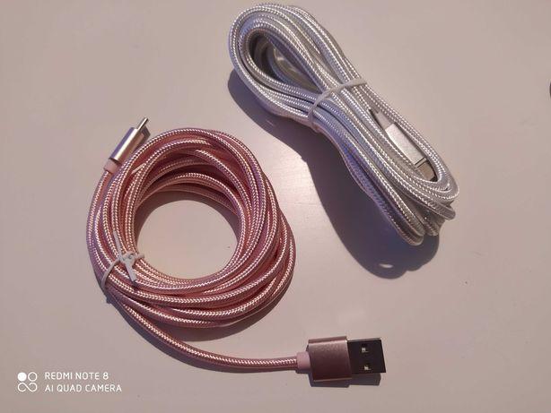 Kabel USB typu C, 3metry
