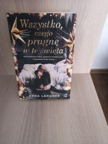 Książka Wszystko czego pragnę w te święta Anna Langner