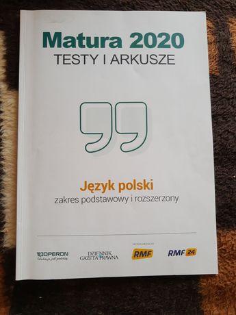 Matura, język polski - arkusz próbny. Ćwiczenia z odpowiedziami