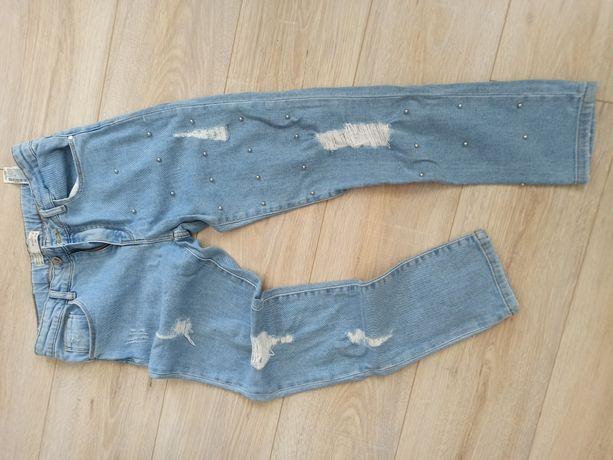 Zara girls jeansy 13/14 164 nowe