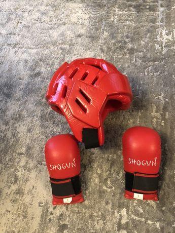 Shogun kask i rękawice dziecięce