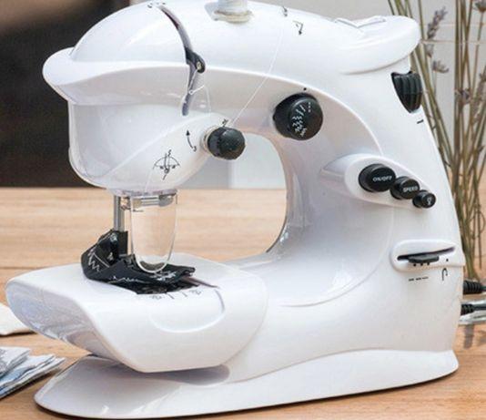 Máquina de Costura de 7 Pontos