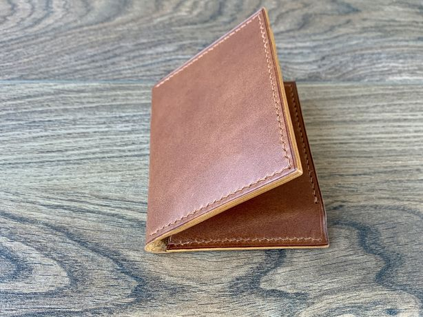 Мужской кошелек натуральная кожа ручная работа