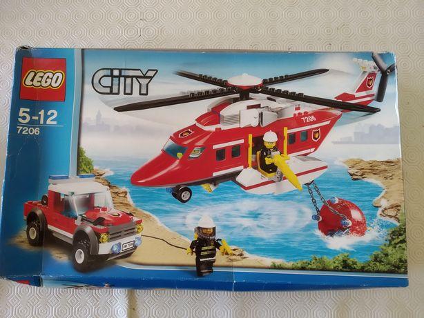 Caixa Lego City Helicóptero