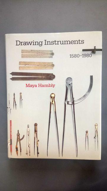 Książka Drawing instruments Maya Hambly