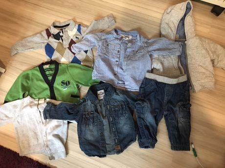 Ubranka chłopiec 3-6 miesięcy, 7 sztuk