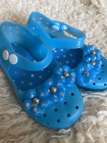 Силиконовые босоножки мыльницы туфли