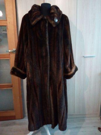 Długi płaszcz ze sztucznego futerka Corri de Corri firmy Tissavel