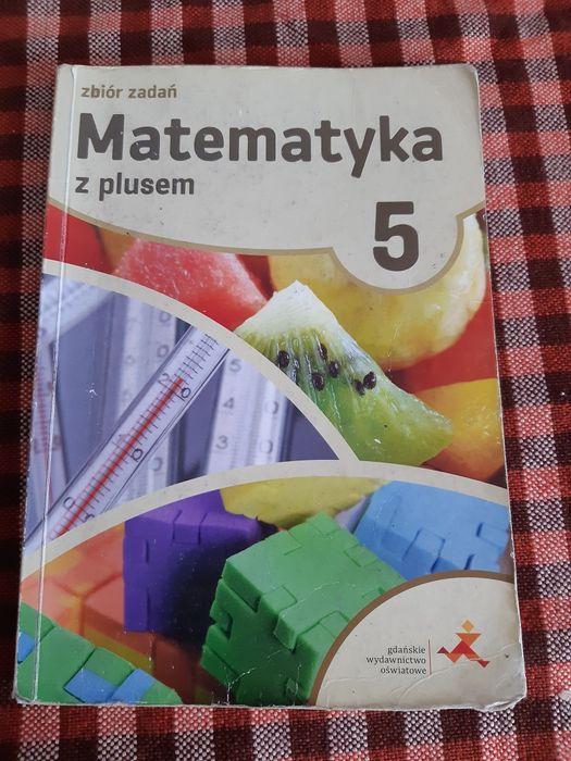 Zbiór zadań matematyka z plusem 5 Wydartowo - image 1