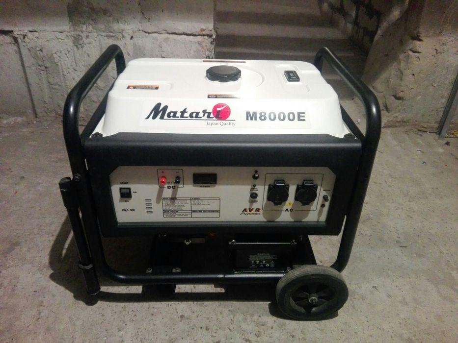 Бензиновый генератор 6 кВт  Matari M8000E (Япония) Буча - изображение 1