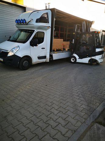 Przewoźnik podejmie współpracę do 3,5T auto blaszak transport 8ep,10ep