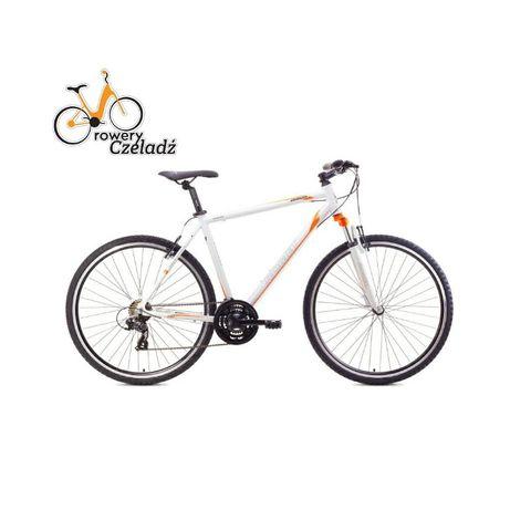 """ROMET Orkan rower 28"""" M Biało Pomarańczowy r 21"""""""