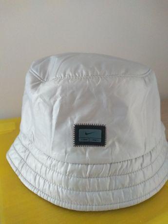 Nowy kapelusz Nike szary srebrny L