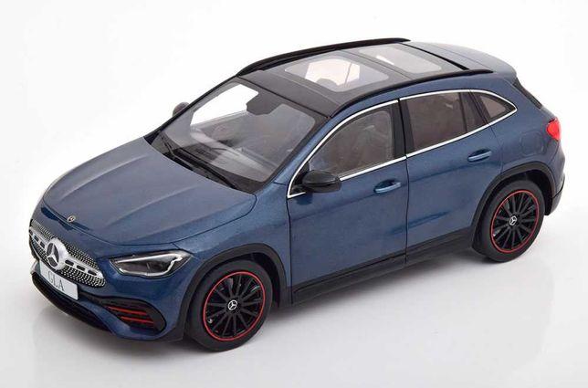 Miniatura 1:18 - Mercedes-Benz GLA (H247) year 2020 - denim blue
