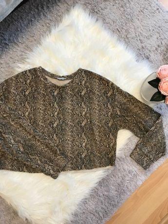 Sweterek panterka Zara