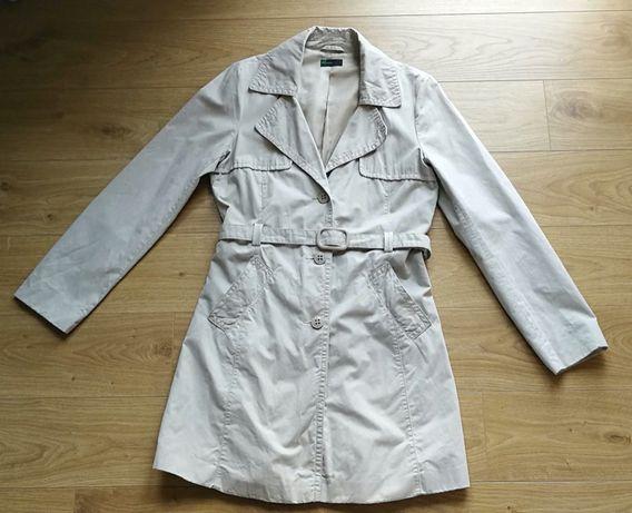 BENETTON płaszcz, trencz 38 M
