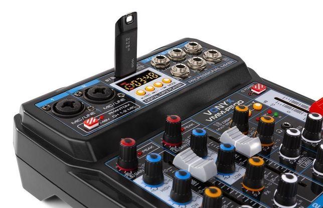 Mikser 4-kanałowy DSP USB MP3 BT Vonyx VMM-P500