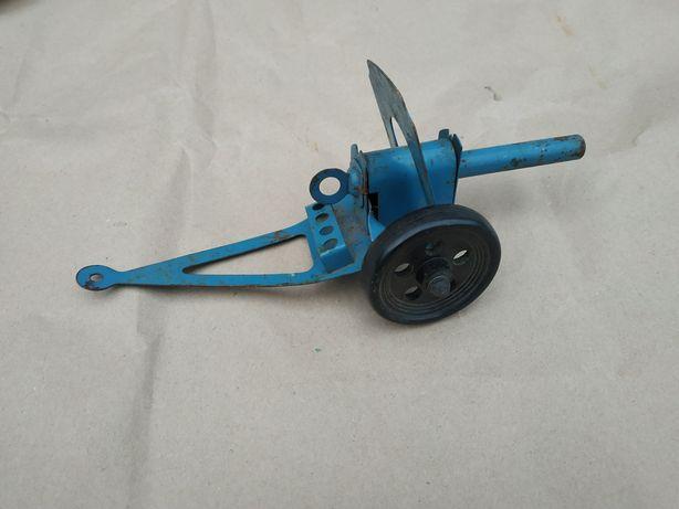 Детская игрушка СССР пушка для карандашей стриляет