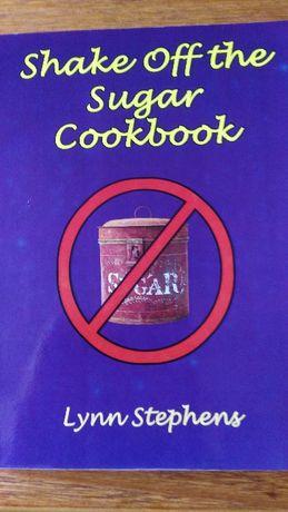 Książka Shake off sugar cookbook, poradnik w j. angielskim