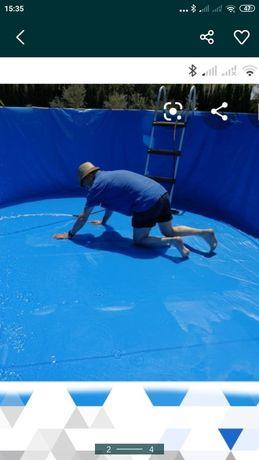 Liner/Lona para piscina/coberturas/toldos qualquer medida várias cores