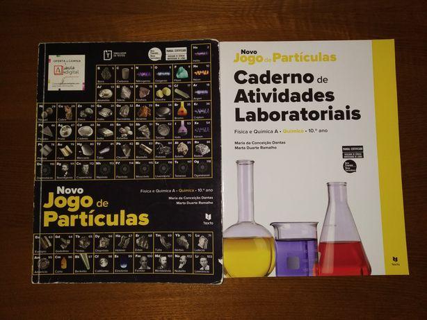 Manual + Caderno - Novo Jogo de Partículas 10° ano - Texto Editora