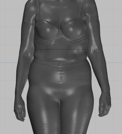 3D сканирование, 3D модель