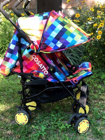 Продается прогулочная коляска для двойни Cosatto