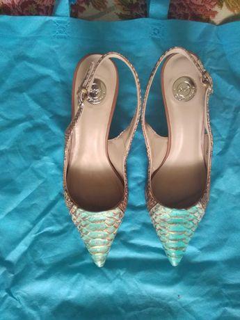 Туфли женские кожа питона Италия