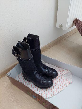 Зимние ботинки Турция Kemal Pafi, натуральный мех цигейка 33р.
