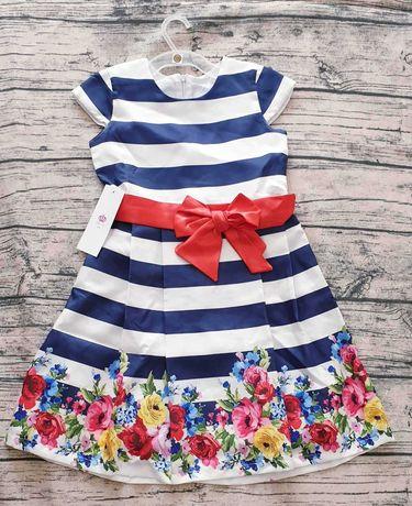 Нарядное брендовое платье от ТМ Diemaan kids р.128