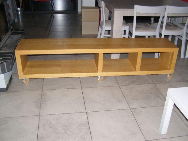 Regał poziomy półka regał na kółkach Ikea