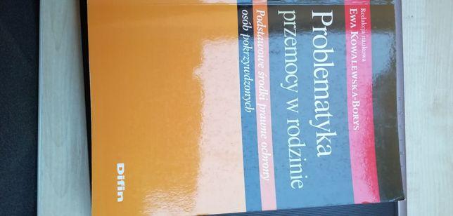 Książka problematyka przemocy w rodzinie