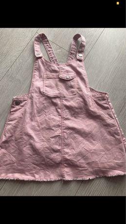 Sukienka- Ogrodniczka Zara