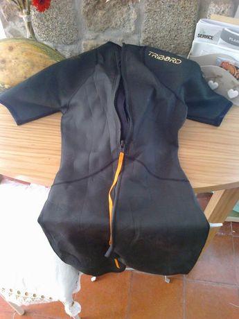 Fato triboard 2-1 medium surf manga e perna curta