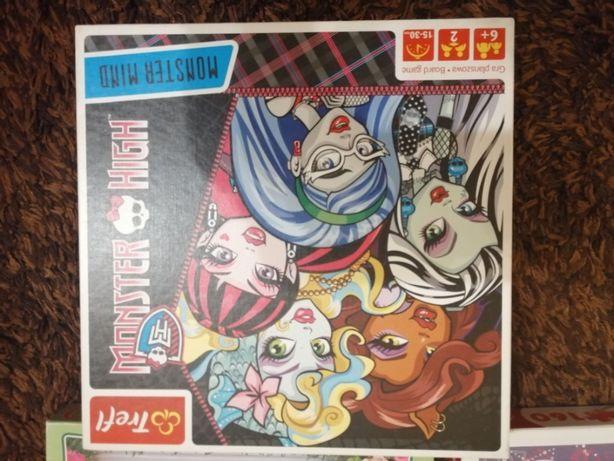 Gra planszowa Monster High jak nowa
