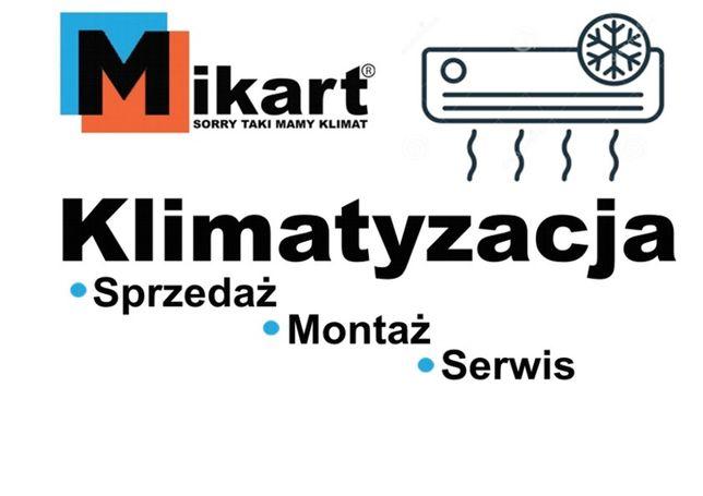 MIKART klimatyzacja Sprzedaż, Montaż, Instalacja klimatyzacji, Serwis