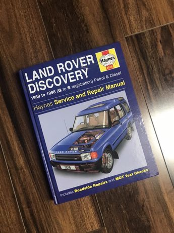 LR Discovery ksiazka napraw Haynes