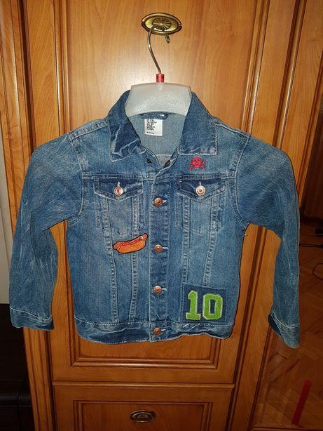 Джинсовая курточка hm пиджак zara gap для мальчика