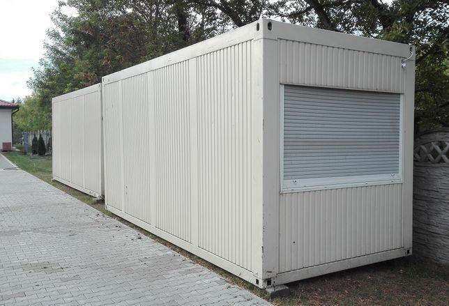 Wynajem kontener sanitarny socjalny mieszkalny 4 os Warszawa i okolice