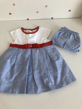 Vendo vestido de bebe menina 3 meses
