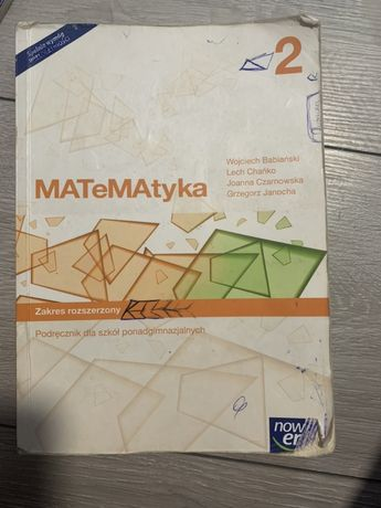 Książka matematyka kl2