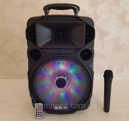 Колонка портативная с микрофоном ZXX-1209