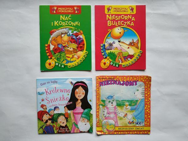 Bajki dla dzieci 4 szt. Książki dla najmłodszych