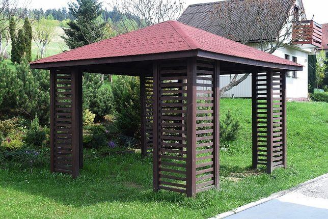 Altanka ogrodowa, prostokątna 3.5m x 3.5.