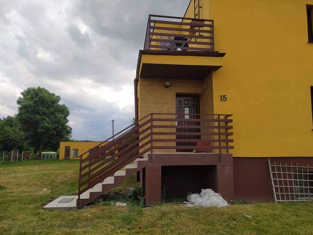 Ogrodzenie systemowe, balustrada, brama, schody