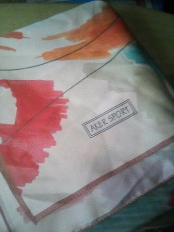 Новый шелковый турецкий платок