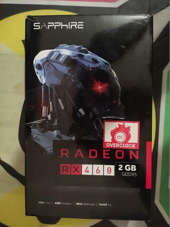 Продам рабочую видеокарту Sapphire RX 460 2GB GDDR5 (Hynix)