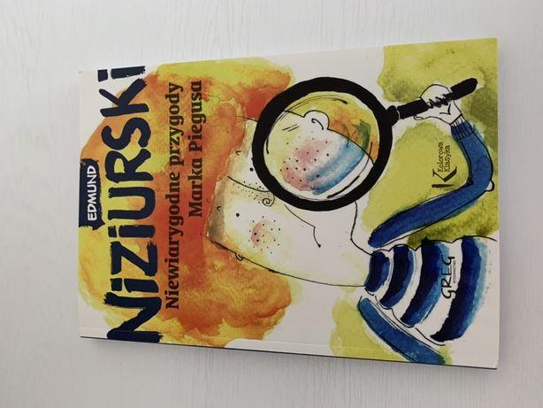 """Edmund Niziurski - """"Niewiarygodne przygody Marka Piegusa"""""""