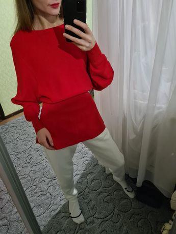 Шикарный объёмный свитер оверсайз от zara